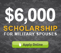 $6,000 Scholarship For Military Spouses